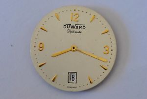 【送料無料】腕時計 ウォッチ original duward eta 255411 movement untested ref12106