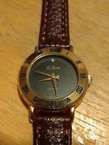 【送料無料】腕時計 ウォッチ ヴィンテージルバロンローマアラームバッテリーレザーvintage le baron nmeros romanos reloj mujer , atletismo con de bateracuero