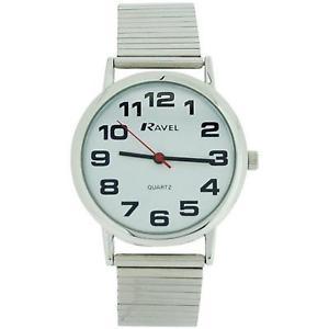 【送料無料】腕時計 ウォッチ ステンレススチールブレスレットストラップソフトラヴェルナイツravel caballeros de acero inoxidable suave expandible pulsera correa reloj r0208021