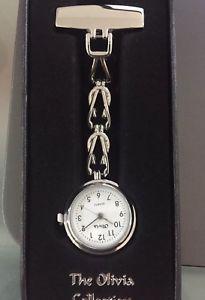 【送料無料】腕時計 ウォッチ レディースオリビアコレクションホワイトウォッチseoras reloj fob enfermeras genuino olivia collection blanco toc06