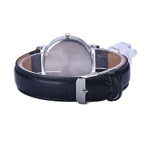 腕時計 ウォッチ ブラックホワイトレディースアナログターンseoras reloj negro blanco tiempo al trasladar su vez girar analgico relojes regalo presente uk