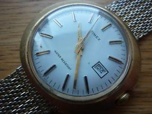 【送料無料】腕時計 ウォッチ timex fecha 1970s