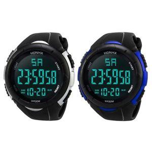 【送料無料】腕時計 ウォッチ スポーツ3xhonhx reloj deportivo para hombre, reloj de pulsera impermeable led depoh5s5