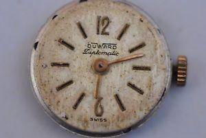【送料無料】腕時計 ウォッチ オリジナルキャリバーoriginal duward diplomatic caliber fhf 3421 working ref1750