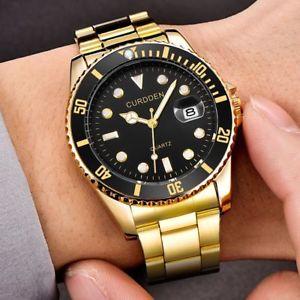 【送料無料】腕時計 ウォッチ スポーツステンレスファッションウォッチreloj de pulsera moda relojes militares de acero inoxidable con fecha deportivo a cuarzo analgico hombr