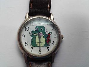 【送料無料】腕時計 ウォッチ ビンテージボッティチェリワニクロコダイルnuevo anunciorare vintage botticelli crocodile moving eyes cal isa 1189 cocodrilo