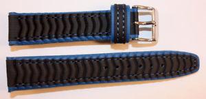 【送料無料】腕時計 ウォッチ ブレスレットプラスチックステンレススチールクローズドnuevo anunciotaucheruhren pulsera costura de plstico negroazul robusto acero inoxidable cierro 2