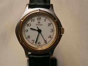 【送料無料】腕時計 ウォッチ ベルタイタンブレスレットbelle montre femme titan quartz bracelet veau