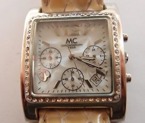 【送料無料】腕時計 ウォッチ アラームクロノグラフバーreloj mc chronograph, 5 bar, quartz, reloj de pulsera