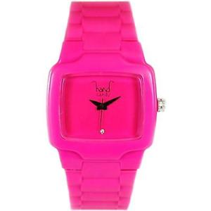 【送料無料】腕時計 ウォッチ キャンデーゴムピンクアラームhand candy lleno de baches rosa goma reloj mujer hctvpk