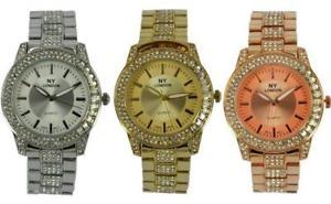 【送料無料】腕時計 ウォッチ ロンドンニューヨークメタルカラーレディースベゼルブレスレットprince londres ny damas color metal reloj con pedrera de bisel y correa 7803