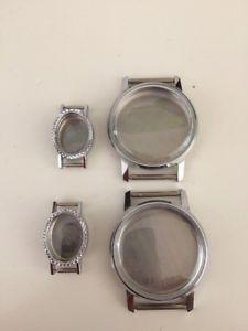 【送料無料】腕時計 ウォッチ コレクションmontre mcanique botier lot acier neufs horlogerie rparations collection
