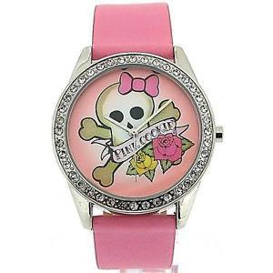 【送料無料】腕時計 ウォッチ ピンククッキーレディースピンクアナログフィールドタイミングベルトアラームpink cookie ladiesgirls analgico esfera rosa amp; pu correa de reloj pcl0011