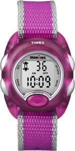 【送料無料】腕時計 ウォッチ ピンクシルバーt7b980 timex ironkids rosaplata