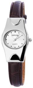 【送料無料】腕時計 ウォッチ シルバーアナログクォーツfantastico plata marrn analgico metal cuero cuarzo reloj de pulsera x100322500120
