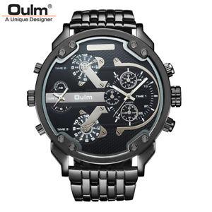 【送料無料】腕時計 ウォッチ ブレスレットスチールベルトクロックoulm reloj de correa acero de hombres lujo exclusivo exagerada pulsera relojes