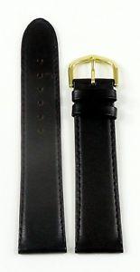 【送料無料】腕時計 ウォッチ ベルトスムーズレザーrelojes correa del reloj pulsera lw cierro cuero liso negro 20 mm
