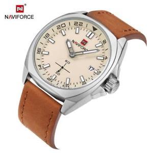 【送料無料】腕時計 ウォッチ ファッションnaviforce 9104 hombres reloj de pulsera de moda reloj de pulsera de cuero