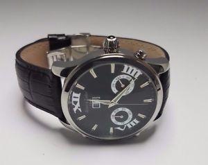 【送料無料】腕時計 ウォッチ ローバークロックブラックマンコレクションクロックrover amp; lakes seores reloj automtico de coleccin como nuevo reloj hombre negro