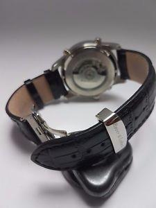腕時計 ウォッチ ローバークロックブラックマンコレクションクロックrover amp; lakes seores reloj automtico de coleccin como nuevo reloj hombre negro