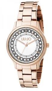 【送料無料】腕時計 ウォッチ ラグジュアリーリュジョドナシルバーorologio donna liu jo luxury aurelia tlj1130 acciaio ros silver