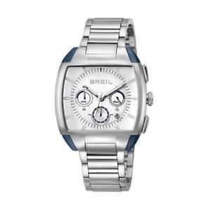 腕時計 ウォッチ スチールブレスレットシルバークラシッククロノreloj de hombre breil b squared tw1115 pulsera de acero silver chrono clsico