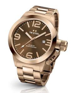 【送料無料】腕時計 ウォッチ スチールメンズローズゴールドウォッチtw steel cb191 mens rose gold 45mm canteen watch 2 years warranty