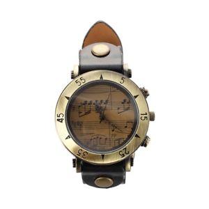 腕時計 ウォッチ アナログクオーツビンテージブラックウォッチ5xreloj analogico cuarzo vintage pulsera correa pu negro para mujer hombref7l1