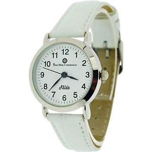 腕時計 ウォッチ クロックベルトクロコダイルrelda chicas primera sagrada comunin reloj con correa de efecto cocodrilo blanco rel02