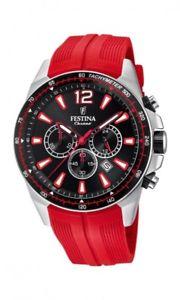 【送料無料】腕時計 ウォッチ レディースレッドクロノグラフfestina seores reloj pulsera f203766 chronograph rojo