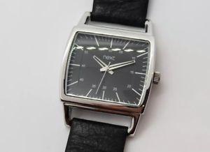 腕時計 ウォッチ アラームブラックレザーストラップprxima reloj para hombres con correa de cuero negro 790581