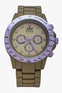 腕時計 ウォッチ ファッションベルトアナログnuevo kings moda metal correa esfera plateada mujer relojes analogico