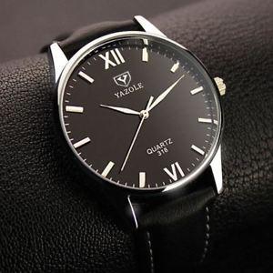 腕時計 ウォッチ ビジネスメートルreloj de cuarzo negocio de lujo yazole para hombresresistencia al agua 30m, cuero