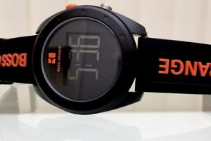 【送料無料】腕時計 ウォッチ デザイナーシリコンデジタルボスボスオレンジgenuino reloj de diseador hugo boss boss orange para hombre digital silicona rrp 189 b36
