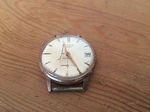 【送料無料】腕時計 ウォッチ ビンテージタイタンウォッチスチールケースused reloj watch vintage titan steel case 17 rubis 34mm