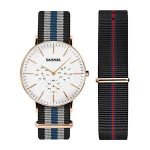 【送料無料】腕時計 ウォッチ アラームレトロボックスslazenger retro para hombre reloj sl91981203 con o sin caja 9499 5