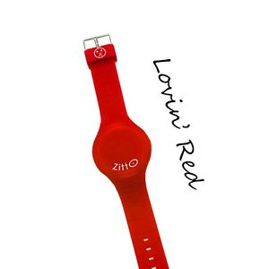 腕時計 ウォッチ ミニシリコンロッソネットワークnuevo anuncioorologio zitto mini 36mm silicone colorato led impermeabile rosso lovin red