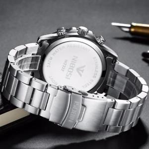 腕時計 ウォッチ ビジネスカジュアルミリタリースポーツクオーツnibosi business casual quartz military sport reloj de pulsera para hombres oe