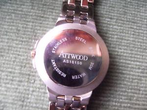 腕時計 ウォッチ ブランドボックスwatch   attwood brand  in original box  unused