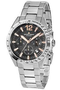 【送料無料】腕時計 ウォッチ ジャックルマンクロノグラフjacques lemans reloj pulsera hombre crongrafo 425f