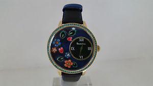 【送料無料】腕時計 ウォッチ テンポウォッチorologio braccialini fiori flower solo tempo pelle nero watch brd603sr1nn
