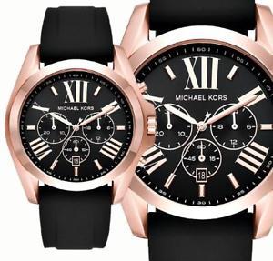 腕時計 ウォッチ アラームクロノグラフマンクロノブラックoriginal michael kors reloj crongrafo hombre mk8559 bradshaw chrono negror oro nuevo