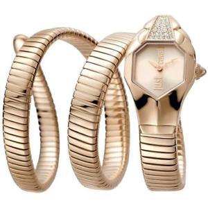 【送料無料】腕時計 ウォッチ シックorologio donna just cavalli glam chic jc1l022m0035 acciaio ros serpente
