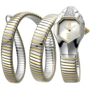 【送料無料】腕時計 ウォッチ シックゴールドorologio donna just cavalli glam chic jc1l022m0045 acciaio gold serpente