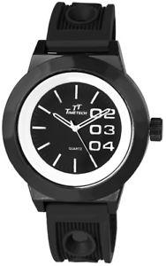 腕時計 ウォッチ ハイテクアラームシリコンアナログクォーツnuevo anunciotime tech reloj hombre negro blanco analgico de silicona cuarzo reloj de pulsera x2276720
