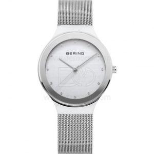 腕時計 ウォッチ ベーリングサファイアクリスタルスワロフスキースチールケースbering sapphire crystal, swarovski, 12934000 misura 34 mm steel case, argent