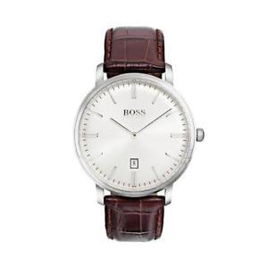 【送料無料】腕時計 ウォッチ ヒューゴボスレザーアラームhugo boss 1513462 cuero reloj hombre