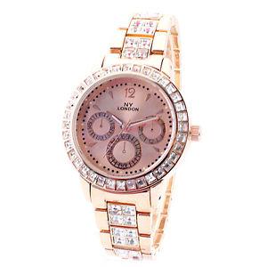 腕時計 ウォッチ ファッションアラームゴールドロンドンデザイナーデラックスmujer de moda cristalizado clsico reloj deluxe dorado ny london diseador