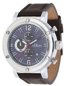 【送料無料】腕時計 ウォッチ オリバークロノグラフダークブラウンs oliver seores reloj pulsera chronograph marrn oscuro so15158lcr