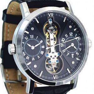 【送料無料】腕時計 ウォッチ デュアルタイムアラームautomatik 2 xquarz dual time classicdesign reloj a1384